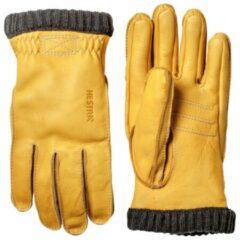 Hestra - Deerskin Primaloft Rib - Handschoenen maat 7, oranje