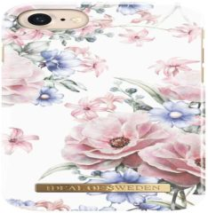 Roze IDeal of Sweden Fashion Back Case Floral Romance voor iPhone 8 | 7