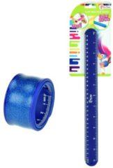 Toitoys Toi-toys Klaparmband Liniaal Blauw 30 Cm