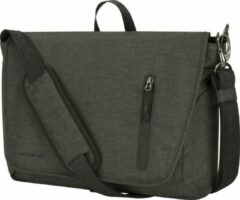 Travelon Urban Anti-diefstal Messenger | Laptoptas Schoudertas | RFID | Heren en dames | Grijs | 43500-550
