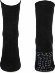 Basset Antislip Sokken Zwart 35-38