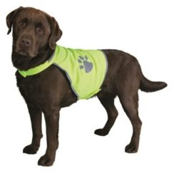 Gele Trixie Veiligheidsjasje Safer Life Fluo Hond L - Kleding - 81 cm - Geel