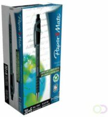 Papermate Balpen Paper Mate Flexgrip Ultra zwart medium 30+6 gratis