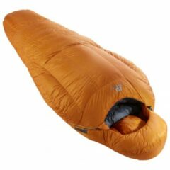Mountain Equipment - Iceline - Donzen slaapzak maat Long - 219x80 cm, bruin/oranje/beige