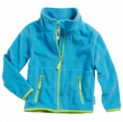 Playshoes - Kid's Fleece-Jacke - Fleecevest maat 128, turkoois/blauw