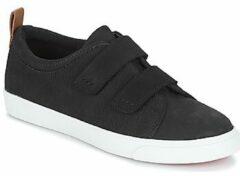 Clarks - Glove Daisy - Sneaker laag gekleed - Dames - Maat 37,5 - Zwart;Zwarte - Black Combi Nbk