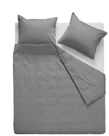 Afbeelding van VTwonen Double Cord dekbedovertrek - 100% katoen - Lits-jumeaux (260x200/220 cm + 2 slopen) - Grey