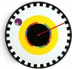 Witte Kikkerland Milton Glaser Sprocket klok