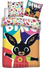 Bing Bunny Happy - baby dekbedovertrek - 100 x 135 cm - Multi