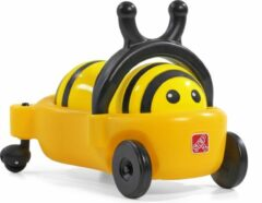 Gele Step2 Bouncy Buggy Bumblebee Hommel - Loopauto en Skippybal kussen in 1