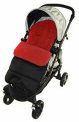 Fedec Comfortbag Voetenzak - Babywagen - wandelwagen - Buggy - Rood - 48 x 11 x 40cm