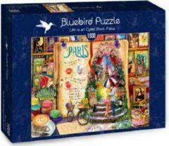 Bluebird puzzel Parijs een open boek (1000)