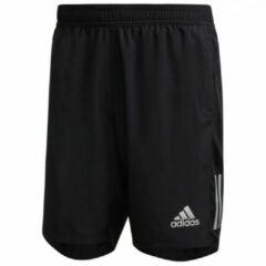 Adidas - Own The Run Shorts - Hardloopshort maat L - Length: 7'', zwart