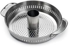 Zilveren Weber gevogeltestomer - Gourmet barbecuesysteem
