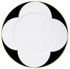 Zwarte SIEGER - Ca` d`Oro - Ontbijtbord met rand 23cm