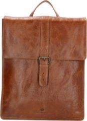 Micmacbags Porto rugzak 15 inch bruin