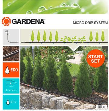 Afbeelding van GARDENA 13010-20 Micro-Drip system Startset plantenrij S 4,6 mm (3/16) Slanglengte: 15 m