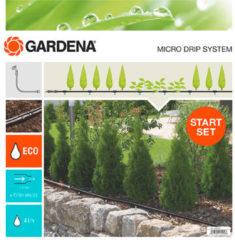 GARDENA Micro-Drip system Startset plantenrij S 4,6 mm (3/16) Slanglengte: 15 m 13010-20