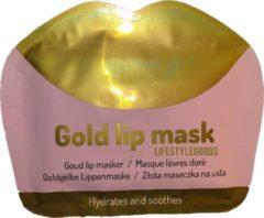 Merkloos / Sans marque Collageen lipmasker | Goud lip masker | Hydraterend masker | Verzorgend masker | Verzachtend masker