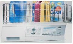 Waschmaschinenorganizer HTI-Line silber