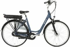 Blauwe Popal Sway Elektrische fiets - Dames - 53 cm - Matt Blue
