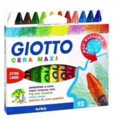 Fila Pastelli a cera maxi Giotto - 12 colori