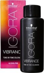Gouden Schwarzkopf Professional Schwarzkopf - Igora - Vibrance - Tone on Tone Coloration - 5-5 - 60 ml