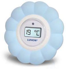 Blauwe Luvion Bad / Kamer Thermometer Blauw