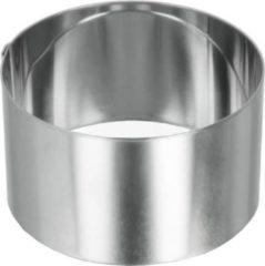 Metaltex Multifunctionele Kookring 8 Cm Rvs Zilver