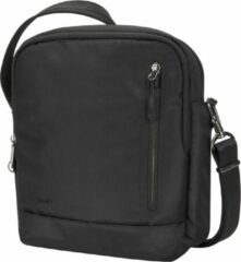 Travelon Urban Anti-diefstal Schoudertas | Crossbody Tour Bag | RFID | Heren en dames | Zwart | 43496-500