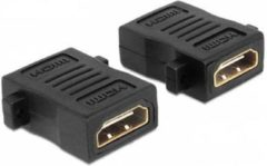 NÖRDIC HDMI-N5003, HDMI 19-pin kabel adapter/verloopstukje, zwart