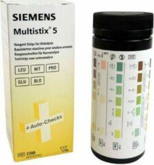 Siemens Multistix 5 Urinetest, 50 stroken