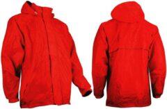 Ralka Regenjas - Volwassenen - Unisex - Rood