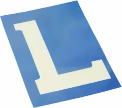 Universeel Electrostatisch label 'L'