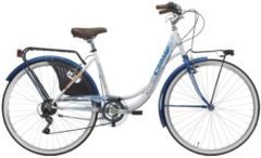 26 Zoll Cinzia Liberty Damen Holland Fahrrad 6 Gang Cinzia weiß-blau