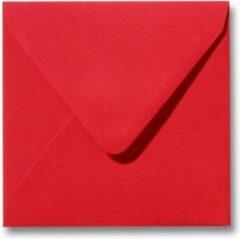 Top-Hobby 100 Enveloppen - Vierkant 14x14cm - Rood