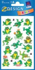 Avery Papieretiket Z-design Kids pakje a 3 vel kikkers
