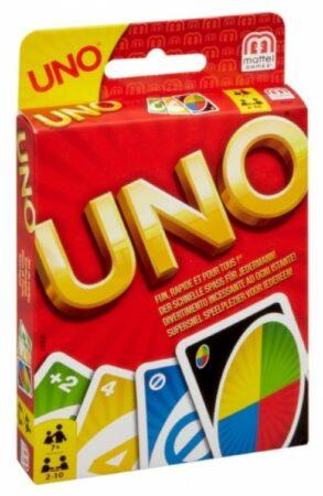 Afbeelding van Mattel Uno Kaartspel 2-10 Spelers