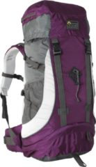 Paarse Active Leisure Mountain Guide 55 - Backpack - Aubergine/ Silver Grey