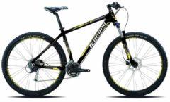 Legnano 29 ZOLL ANDALO HARDTAIL MOUNTAINBIKE ALUMINIUM 24-GANG MTB Hardtail Herren matt-schwarz-gelb
