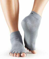 Toesox Sokken zonder tenen - grijs