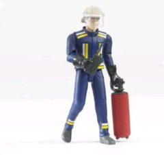 Bruder Feuerwehrmann mit Helm, Handsch., Zubehö 60100 Leeftijdsklasse: vanaf 4 jaar