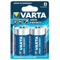 D batterij (mono) Varta Longlife Power LR20 Alkaline 1.5 V 16500 mAh 2 stuk(s)