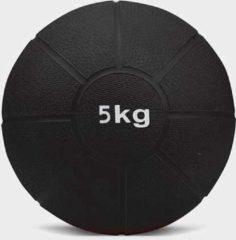 Matchu Sports - Medicijn ball - 5 kg - Zwart
