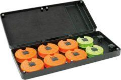 Fox F Box Medium Disc & Rig Box System - Incl. Pins and Discs - Opbergbox - Groen