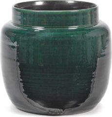 Serax Bloempot Groen-Donker groen D 23 cm H 21 cm