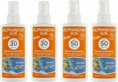 Alphanova SUN BIO - SUMMER DEAL KIDS - SPF 30 en SPF 50 (4 stuks)