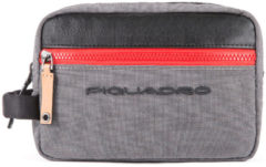 Grijze Piquadro Blade Toiletry Bag Grey