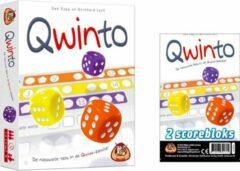 White goblin Kaartspelvoordeelset Qwinto Het Kaartspel & Qwinto Bloks