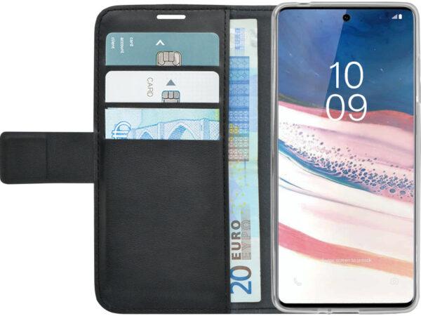 Afbeelding van Azuri Wallet Magneet Samsung Galaxy Note 10 Lite Cover Zwart